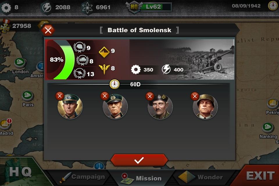 دانلود بازی موبایل World Conqueror 3