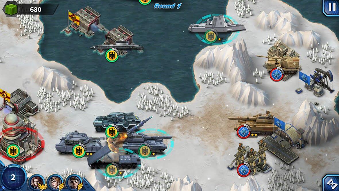 دانلود بازی موبایل Glory of Generals2: ACE