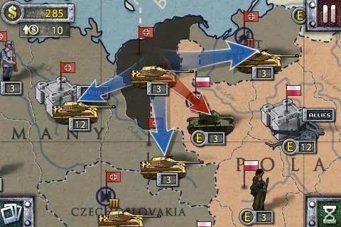 دانلود بازی موبایل European War 2
